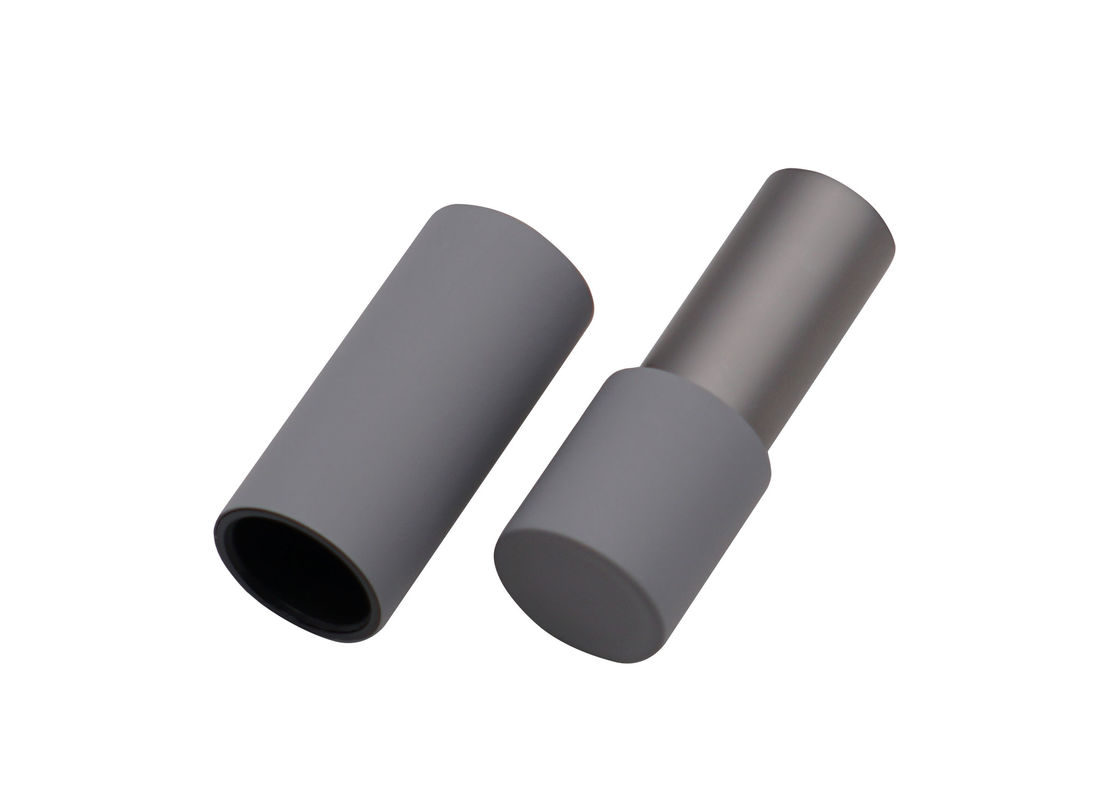 Matte Color Spraying Custom Printed Lip Balm Tubes Grey Lipstick Container For Lipstick